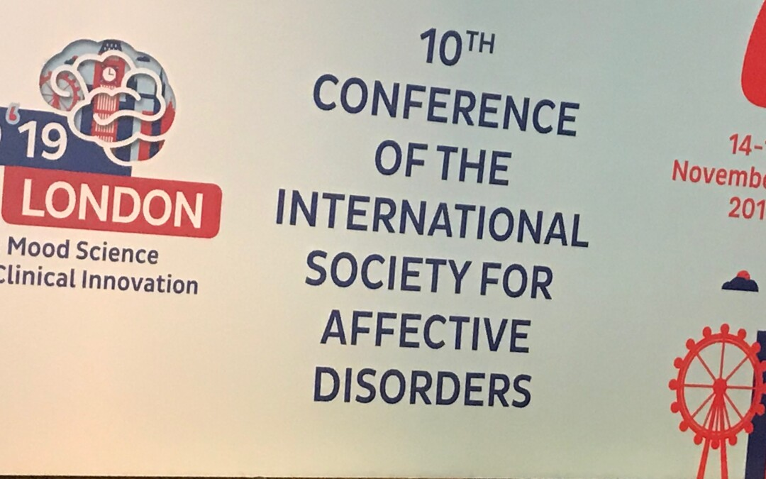 10th Conference of the International Society for Affective Disorders (ISAD) London, UK, November 14 – 16, 2019.