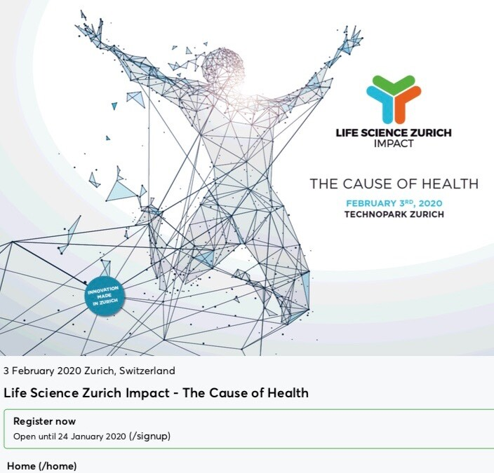Life Science Zurich Impact – The Cause of Health – February 3, 2020